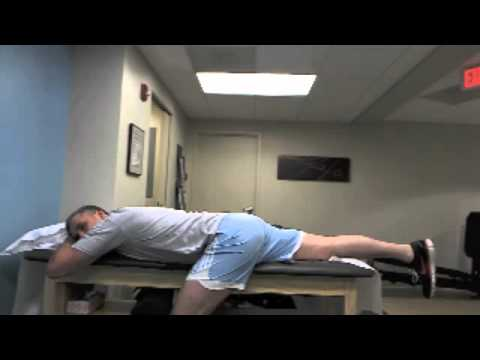 hip exercise #7: prone femoral nerve and hip flexor stretch - youtube, Muscles