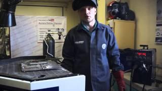 Полуавтомат SPEEDWAY 200 сварка стали 2+2мм в углекислоте(В ролике описаны особенности сварки в чистой углекислоте СО2. Обратите внимание на токопроводящий наконеч..., 2015-09-09T14:54:51.000Z)
