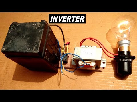 Simplest Inverter Ever 12V to 220V AC
