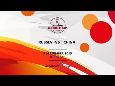 Russia v China