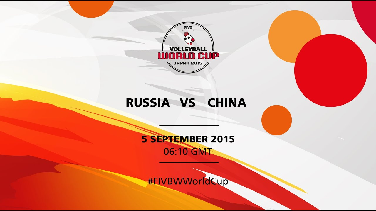 Russia v China - FIVB Volleyball Women's World Cup Japan 2015