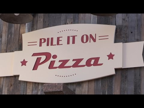 Pile It On Pizza Ribbon Cutting July 2 2015