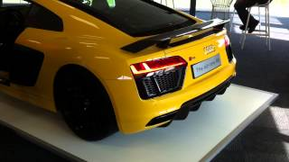 2016 audi r8 v10 sport exhaust system