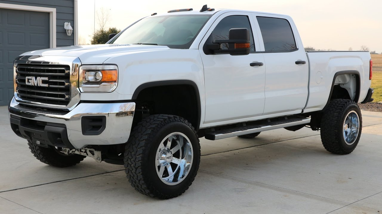 2015 GMC 2500HD Lifted Duramax Diesel (SOLD) - YouTube