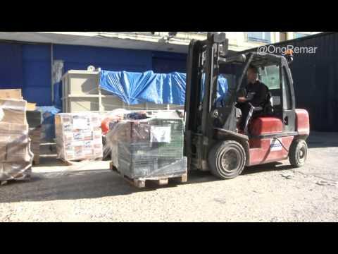 Remar acomete un gran esfuerzo con envio masivo de contenedores - Remar ONG