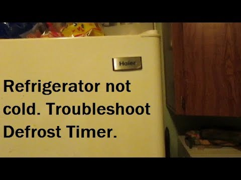 hqdefault haier refrigerator defrost timer troubleshoot youtube haier ha10tg31sw wiring diagram at bayanpartner.co