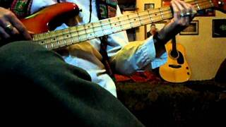 The Beatles -  It's only a Northern Song  - bass line cover - by Pat Maclaine