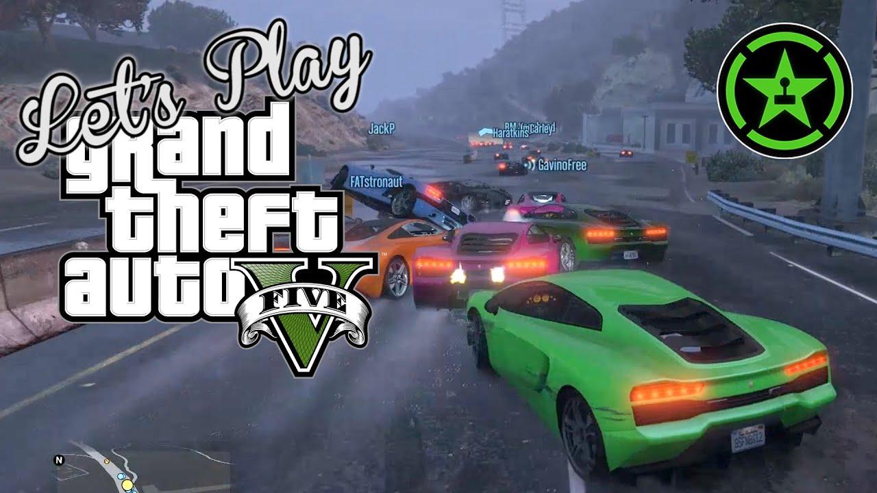 Let's Play: GTA V - Maximum Multiplayer