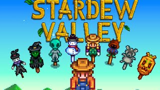How to Obtain all Rarecrow in Stardew Valley