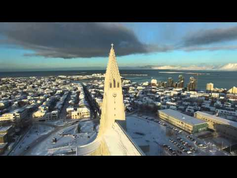 Hallgrímskirkja: Drone Footage of An Icelandic Church