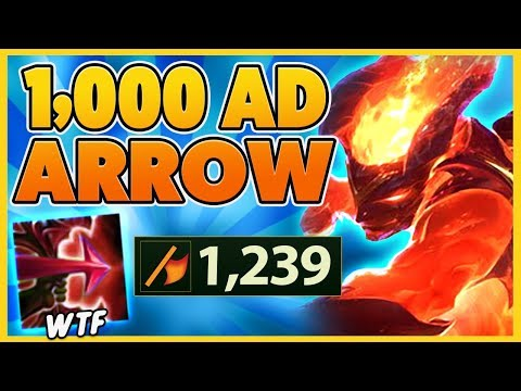 *1,000+ ATTACK DMG* 5,000 DAMAGE FIRE ARROWS (ONE-SHOTS) - BunnyFuFuu