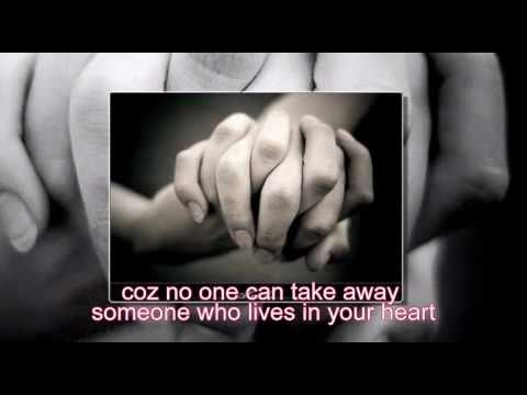 All 4 One - Someone who lives in your heart (lyrics)