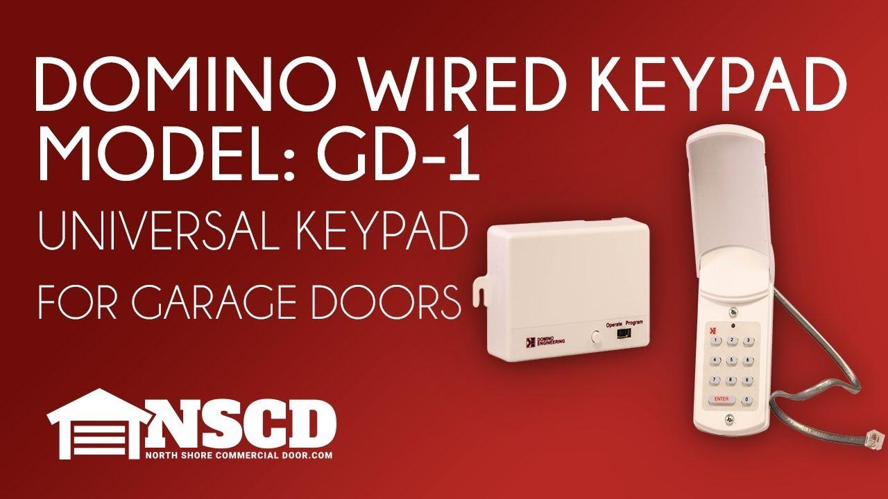 Garage Door Opener Keypad Wired Dandk Organizer