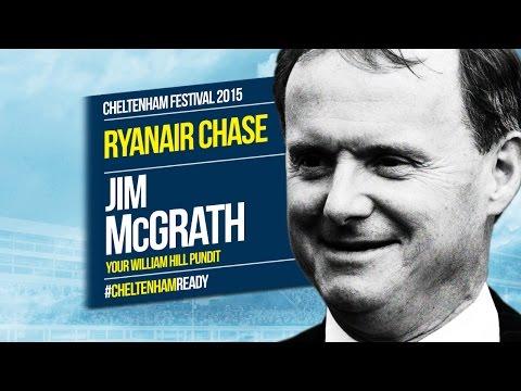 Jim McGrath on Ryanair Chase