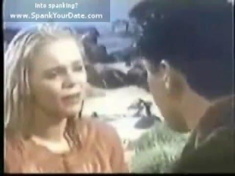Blonde babe gets a spankin'