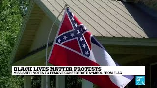 Mississippi Votes To Remove Confederate Symbol From Flag