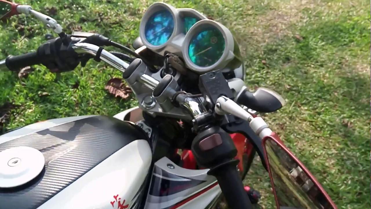 Vixion Old Pakai Stang Ninja S Ori Jadi Tambah Ganteng