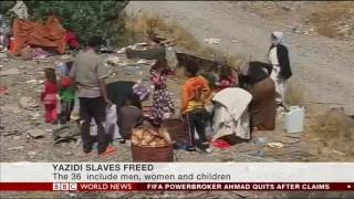 UNFPA provides care to Yazidi recently liberated in Iraq