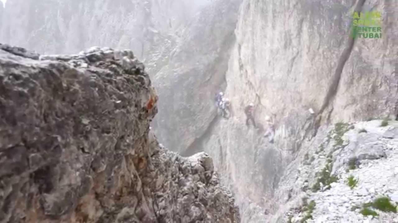 Klettersteig Oberammergau : Er kofel klettersteig youtube