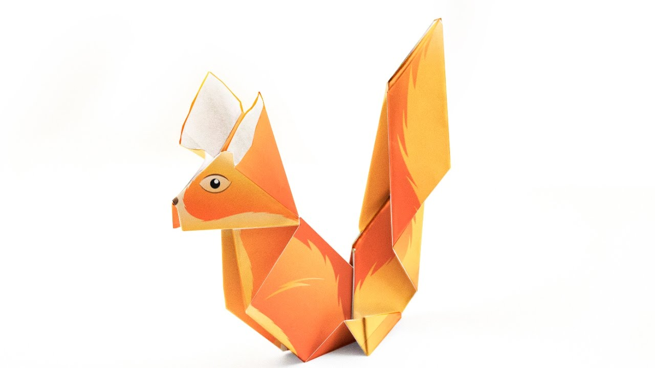 Origami squirrel tutorial decoorigami how to make an origami origami squirrel tutorial decoorigami how to make an origami squirrel jeuxipadfo Choice Image