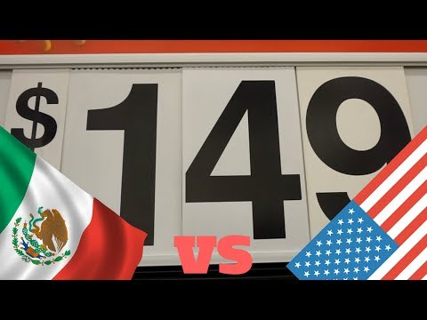 Walmart in Mexico vs Walmart in the United States // Gringos in Mexico City Vlog