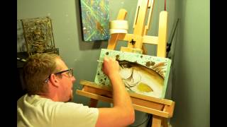 Time Lapse Snook Painting by Travis Luther