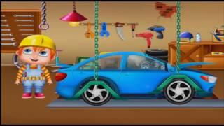 Мультики про машинки. Новое видео для детей. Электромобиль Про машинки Осень 2016(Мы сегодня будем кататься на электромобиле. Но внезапно сели батарейки. Нам с Андре помог трактор. И вот..., 2016-10-22T04:59:56.000Z)