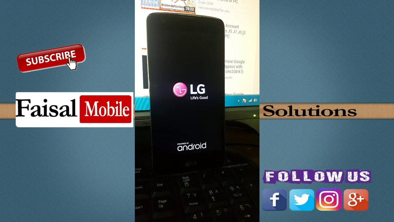 LG K8 LTE Remove FRP Lock Google Lock Bypass without pc 2019
