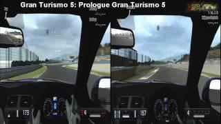 Gran Turismo 5: Prologue vs Gran Turismo 5 - Suzuka Circuit