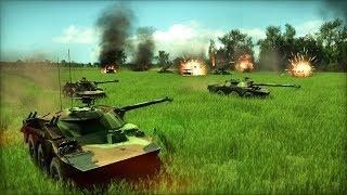 1984 Invasion of France, US Troops Defend High Ground | Wargame: European Escalation Gameplay