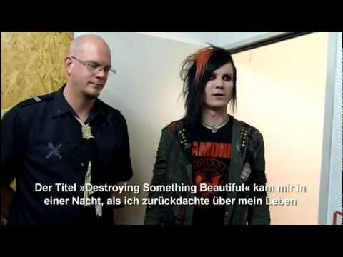 Lost Area Interview @Universum, Stuttgart 20.10.2012
