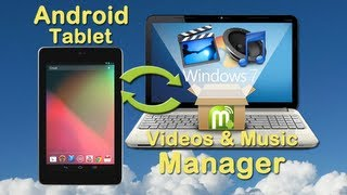 Video to Android Tablet Converter: How to convert video and music to Android tablet on PC?(How to download video to Android phone or tablet? How to convert video to Android tablet directly? (For Windows User:) http://www.itunes-for-android.com/win ..., 2013-03-06T15:51:15.000Z)