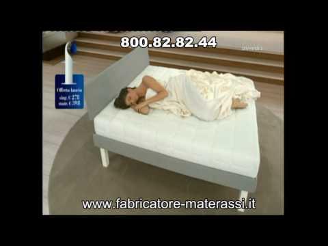 Fabricatore Materassi.Fabricatore Offerta Body Memory Plus Matrimoniale