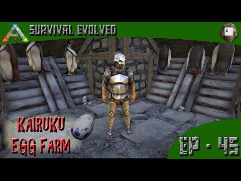 ARK: Survival Evolved - Kairuku (Penguin) Egg Farm - Series Z - EP-45