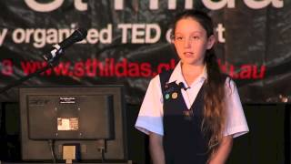 Movie Making in Year 6: Victoria Lawson at TEDxStHildasSchool 3 May 2013