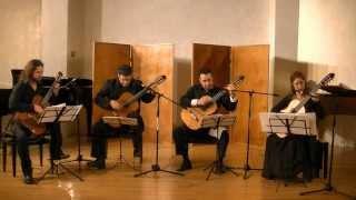 The Israeli Guitar Quartet- Fuga y misterio