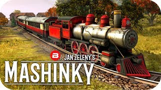 MASHINKY Gameplay - ALLLLLLL THE ORE! - Tycoon Trains Simulator/Railroad Tycoon #3