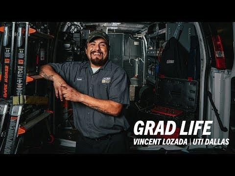 UTI Diesel Graduate, Vincent L. - Universal Technical Institute