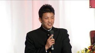 【プロ野球パ】楽天・新入団の9選手が「対戦したい選手」を語る! 2015/12/01