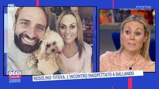 Rosolino - Titova: coppia nata a ritmo di ballo - Oggi è un altro giorno 07/12/2020