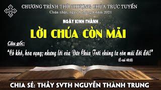 HTTL BẾN TRE - Chương trình thờ phượng Chúa - 08/08/2021