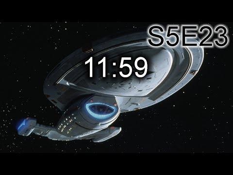 Star Trek Voyager Ruminations: S5E23 11:59