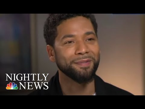 Jussie Smollett Speaks Out For First Time Since Alleged Attack | NBC Nightly News