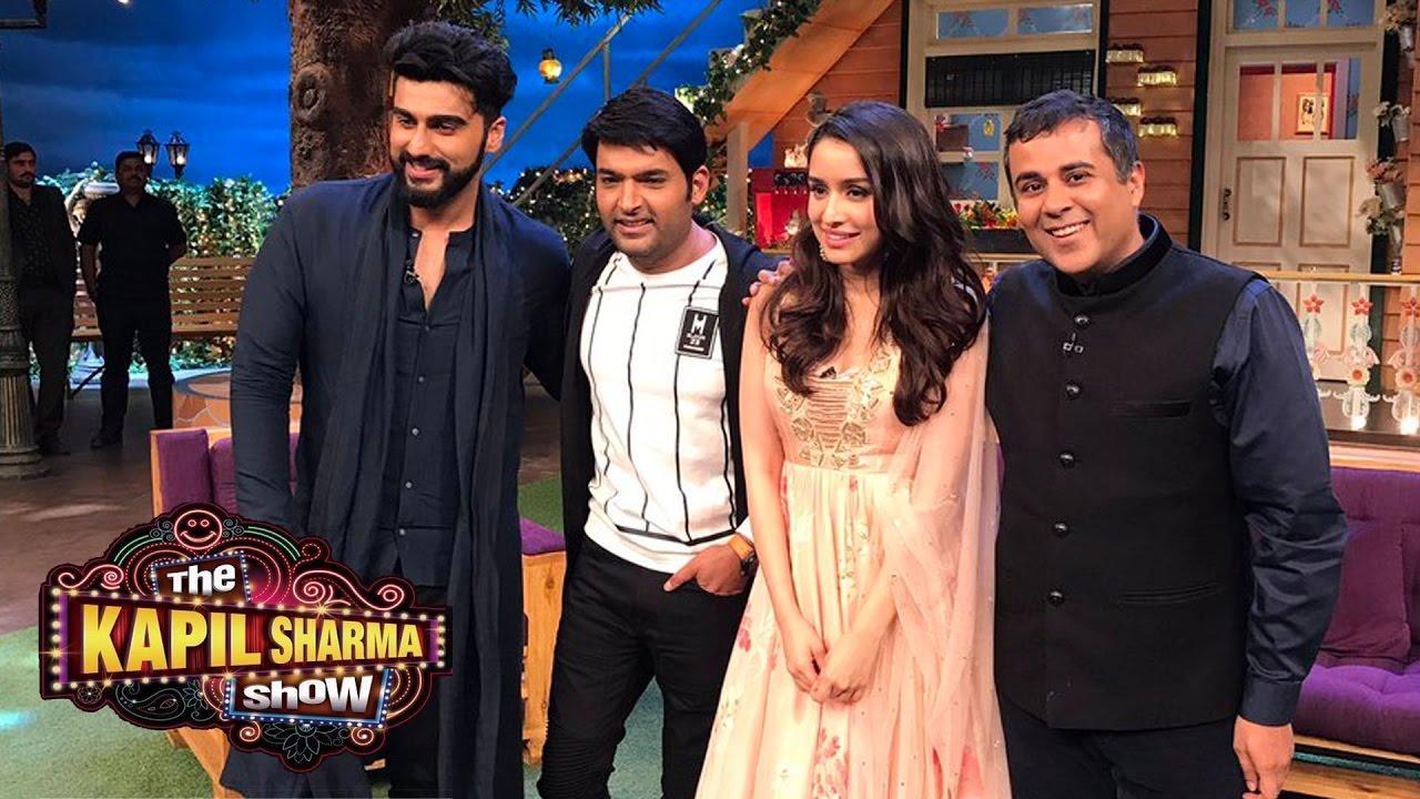 The Kapil Sharma Show | Arjun Kapoor & Shraddha Kapoor ...