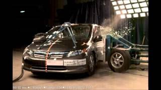 Honda Civic Sedan Hybrid IMA | 2012 | Side Crash Test by NHTSA | CrashNet1