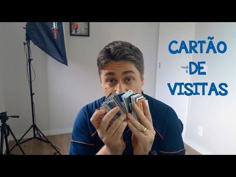 ENTREGUE UM CARTÃO DE VISITA POR DIA
