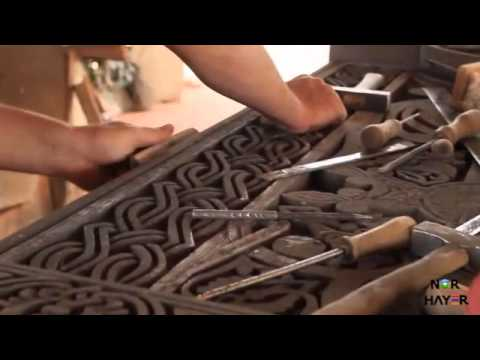 Армянская мастерская хачкаров в Аршалуйсе