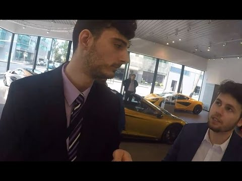 Ice Poseidon gets rejected by car dealers [VOD: 24-03-2017]