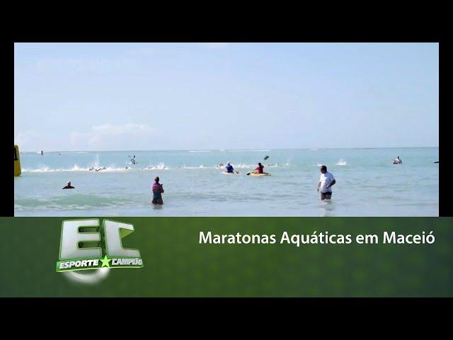 Maceió sediou duas competições de maratonas aquáticas