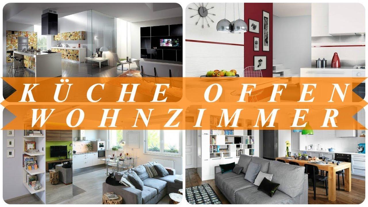 Moderne wohnzimmer mit offener küche  Moderne wohnzimmer mit offener küche - YouTube
